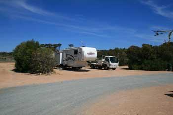 Site at Shelly Beach Caravan Park